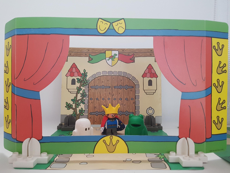 Old Toy Lego Theater 3615 Old Vintage King Frog Castle Spirit