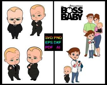 Boss baby characters   Etsy