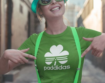 744b5e7f0 Funny St Patricks Day T Shirt Paddidas Tee - Great For Paddies Day  Celebrating Being Irish, St Paddy Would Love