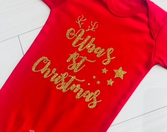 my first christmas pajamas etsy