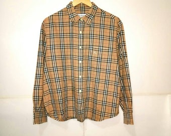 aaf8de24be51 Vintage Burberry Nova Check Shirt