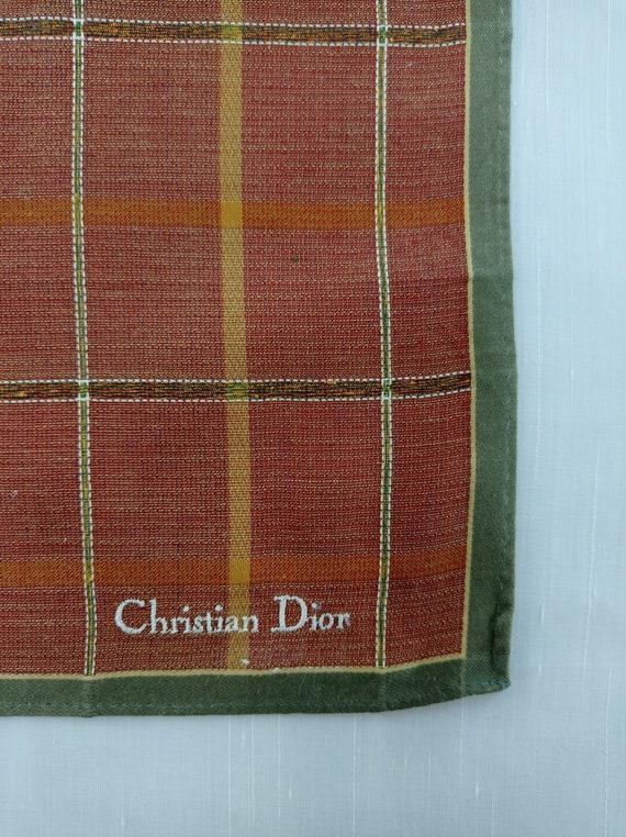 Christian Dior Handkerchief Neckerchief Bandana H… - image 3