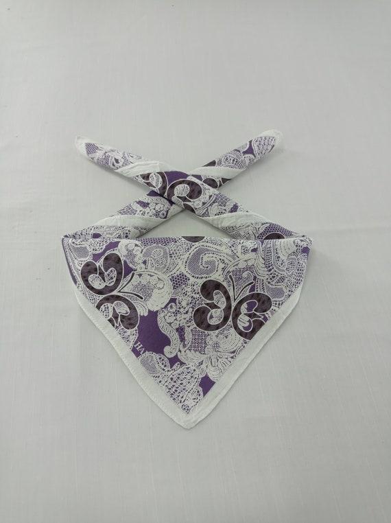 Vintage Hanae Mori Neckerchief/Handkerchief/Bandan