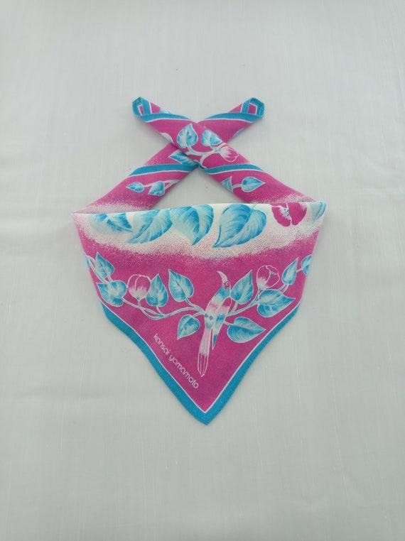 Vintage Kansai Yamamoto Neckerchief/Handkerchief/B