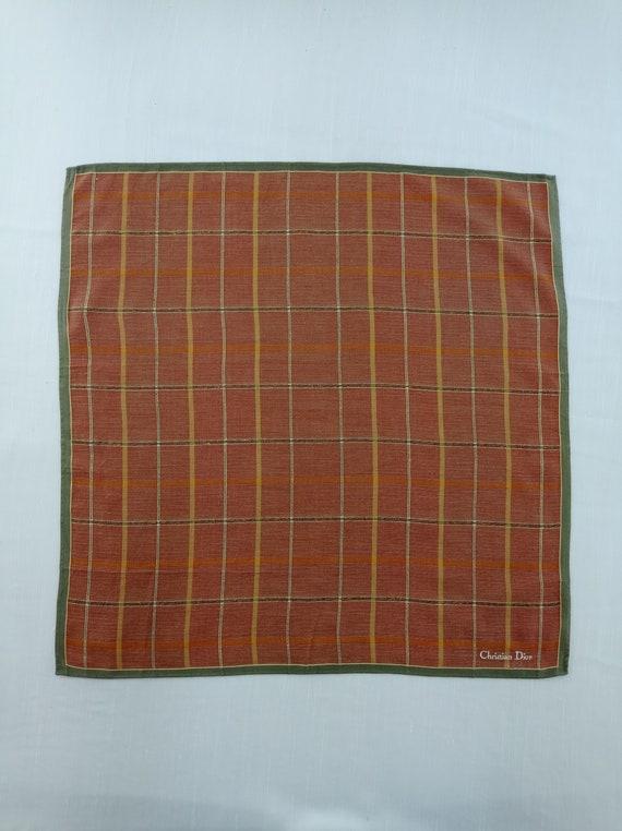Christian Dior Handkerchief Neckerchief Bandana H… - image 2