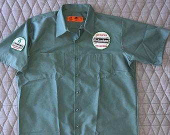 70b4463c Heineken Beer Delivery Driver shirt - Green - XL