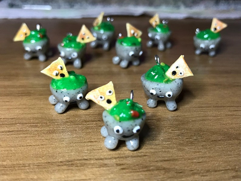 Guacamole and Chip Charm