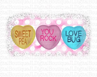 Candy Heart Png Etsy
