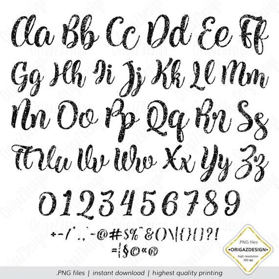 Black Glitter letters sparkle alphabet Clipart Numbers Digital font for halloween Planner stickers clip art PNG Black Glitter Alphabet