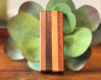 Custom Made Wooden Carrying Case Joints Tobacco