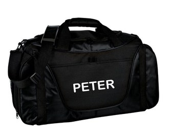 ff200ceebc Free Embroidery Monogrammed Personalized Gym Bag