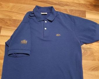 7913628cbebd 90s Vintage La Chemise Lactose Polo Shirt - XXL