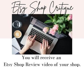 Etsy Shop Critique | Let me do an Etsy review and get you started in the right direction.