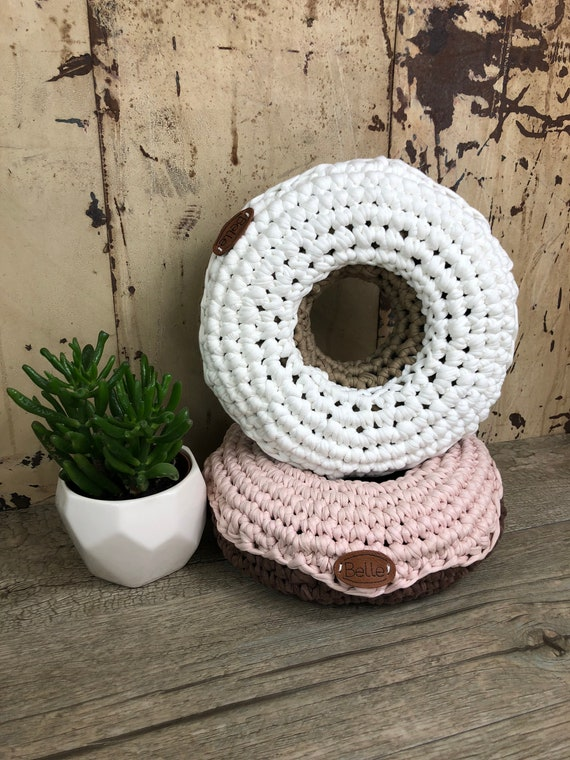 Süßes Donut Kissen Textilgarn Etsy