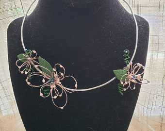 Wire Necklace and Earring Sets