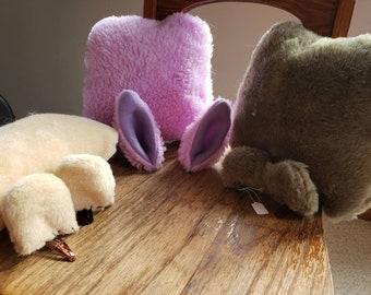 Bear and Bunny Costume Ears and Tails