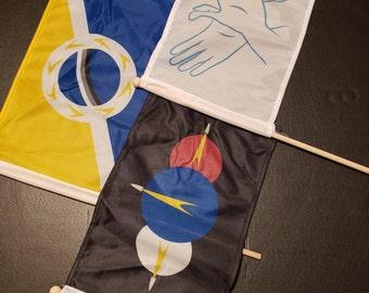 Terra Ignota Flags! FULL SET!