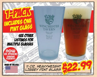 WINCHESTER TAVERN PINT - Single glass only