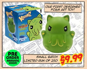 CATHULHU - Designer Foam Rubber Art Toy (PREORDER)