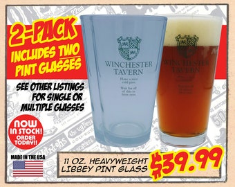 WINCHESTER TAVERN PINT - Set of two