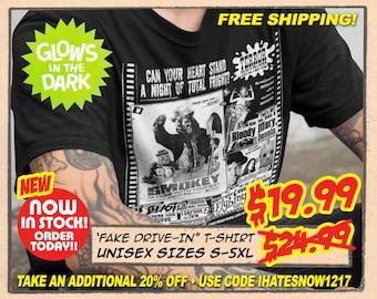 FAKE DRIVEIN AD - New FearWerx t-shirt - Preorder