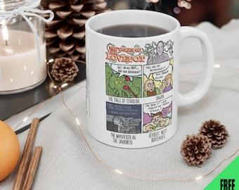 HP LOVEPOT - funny horror cartoon 11 oz. mug free shipping