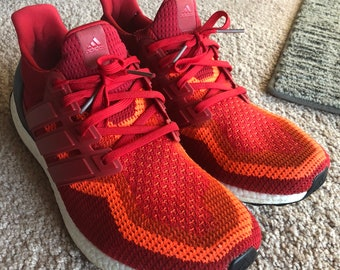 86b70f283dcc7 Adidas Ultra boost 2.0 gradient power red size 12