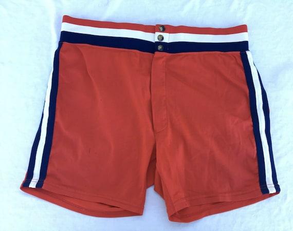 Vintage Medalist Sand Knit Softball Coaches Shorts