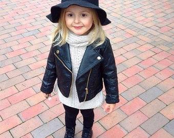2dc17a478 Kids leather jacket