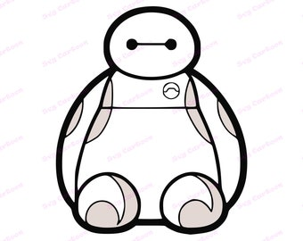 Big Hero 6 SVG 2 Svg Dxf Cricut Silhouette Cut File Instant Download