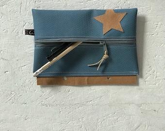 Pen case turn mat for stapling