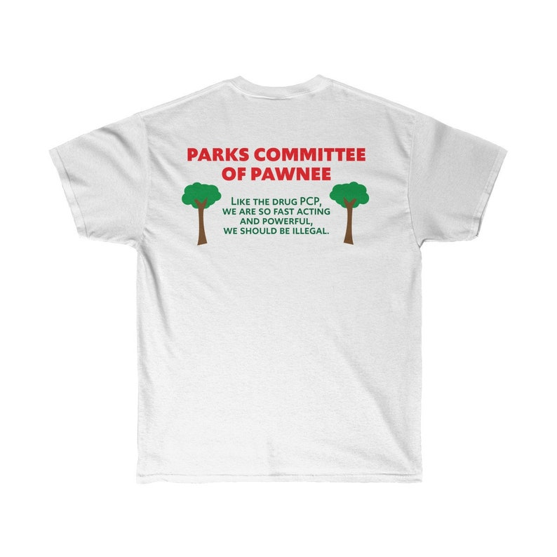 3960d2bcd Parks & Rec PCP Makes it Fun double sided Parks Committee of   Etsy