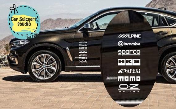 Autozubehör Sponsoren Jdm Aufkleber Pack Jdm Racing Aufkleber Vinyl Windschutzscheibe Fenster Aufkleber Auto