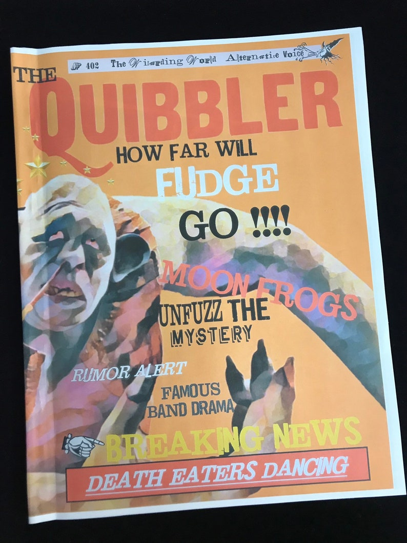 photo regarding Quibbler Printable identified as Contemporary Quibbler Prop Journal