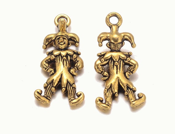 40 Perlenkappen in antik Bronze 6 mm