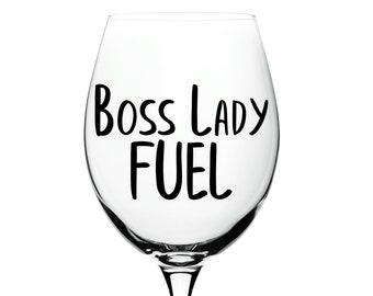 Boss Lady Fuel Mug Etsy
