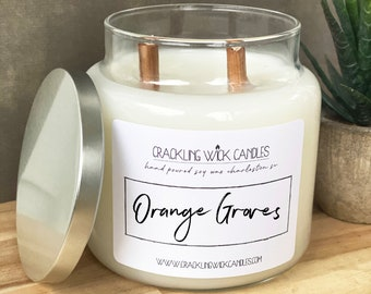 WOODWICK DREAMSICLE DAYDREAM SOY WAX HIGH QUALITY CANDLE Large 18cm **NEW**