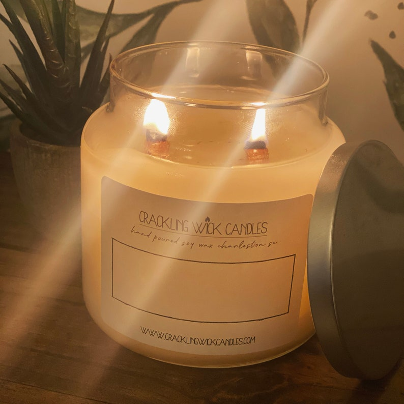 CRANBERRY WOODS Wood Wick Candle Crackling Wick Candles Soy Wax Wooden Wicks Natural Scented Fragrance Dye-Free Jar Gift Boxed 9oz 18oz