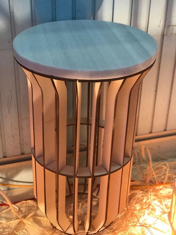 laser de découpe, bois, meuble, table basse, meubles de jardin ...