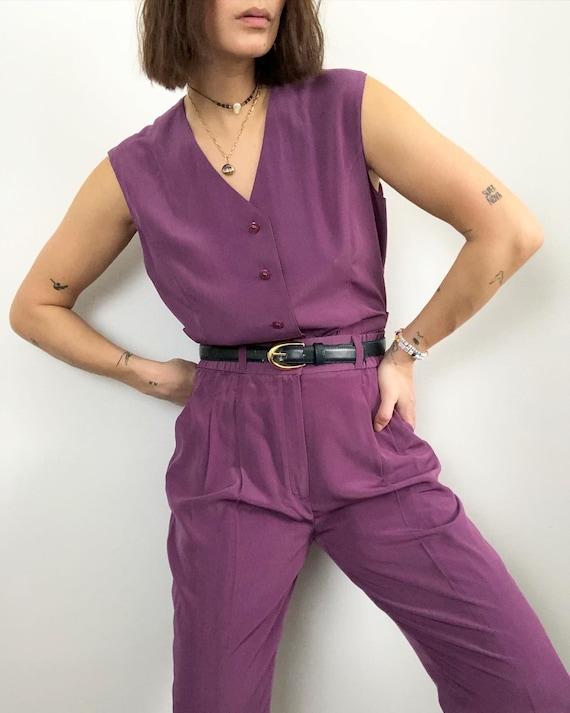 Vintage 2pc vest trouser set