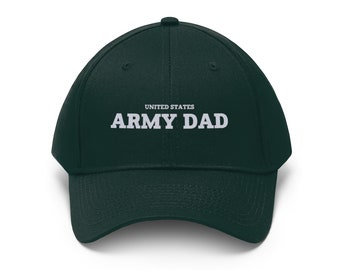 abb4cff8212 United States Army Dad Embroidered Twill Hat