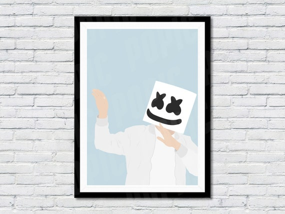 MARSHMELLOW DJ DANCE MUSIC POSTER ART PRINT A4 A3 SIZE BUY 2 GET ANY 2 FREE