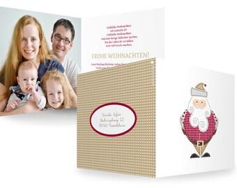 "Christmas card ""Santa Claus"""