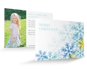 """Christmas card """"Sea of Stars"""""""