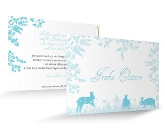 "Easter card ""Spring Meadow"""
