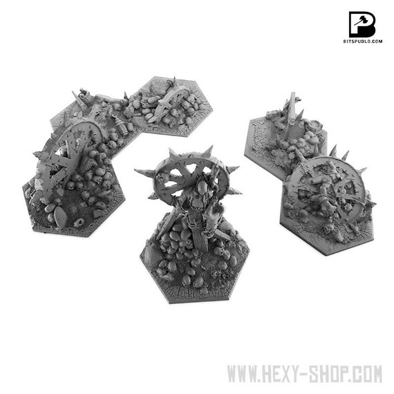 Warhammer alternative enfers Shadespire Chaos Terrain ensemble