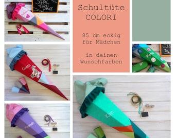 School bag 85 cm square | Colori - Girls - Desired Colors - Custom to Order
