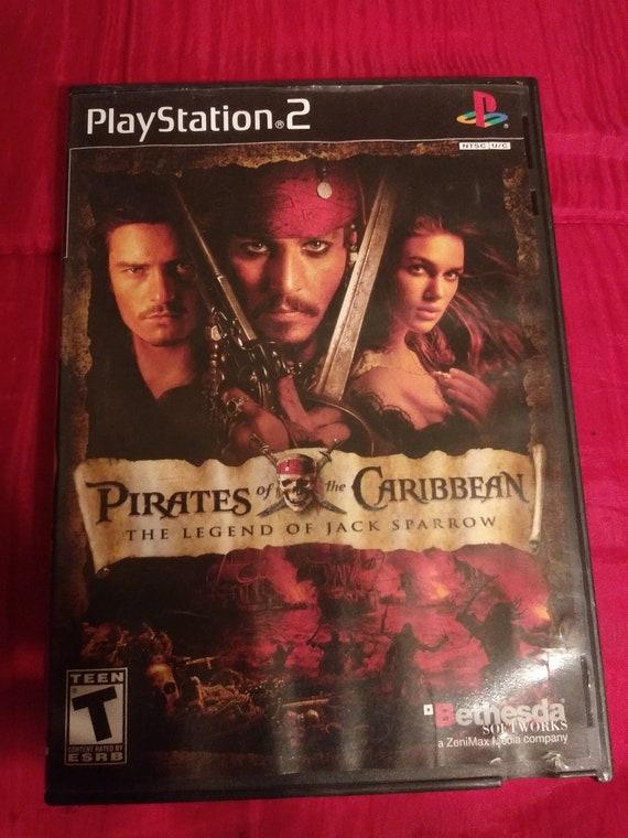 PS2 pirates des Caraïbe jeu
