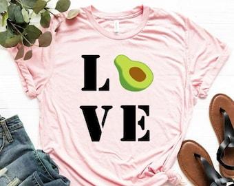 ed53ef0e Avocado T Shirts - Shirts for Foodies - Extra Avo Shirt Avocado Toast Guac  Unisex T-Shirt Avocado-holic - Shirts for Brunch Avocadoholic