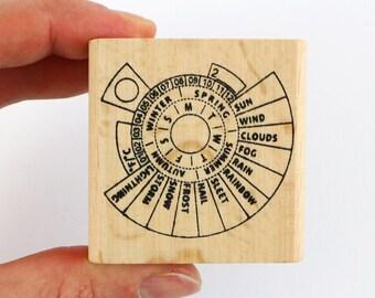 Bullet Journal Perpetual Calendar Stamp Daily Hobonichi